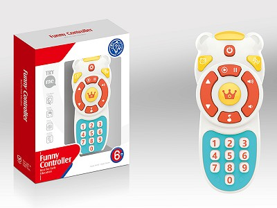 Baby Remote-Controller With Sound And Light