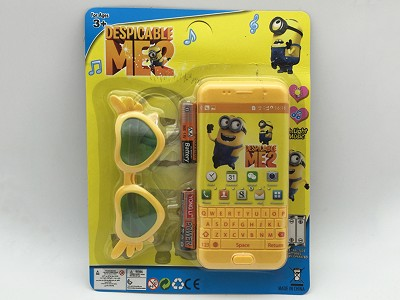 Despicable Me Music Mobile Phone (include  battery)   Glasses