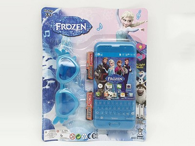 Frozen Music Mobile Phone (include  battery)   Glasses