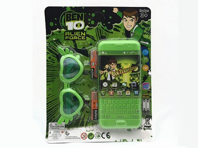 BEN10 Music Mobile Phone (include  battery)   Glasses