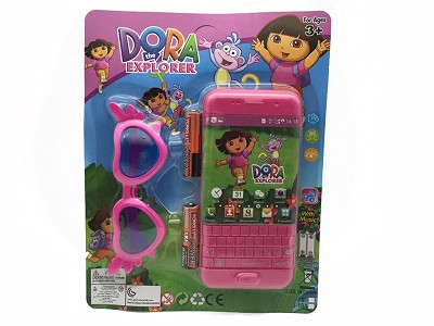 Dora Music Mobile Phone (include  battery)   Glasses