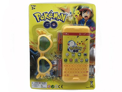 Pikachu Music Mobile Phone (include  battery)   Glasses