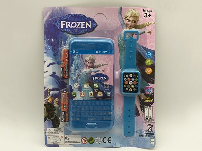 Frozen Music Mobile Phone (include  battery)   Watch