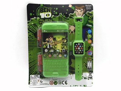 BEN10 Music Mobile Phone (include  battery)   Watch