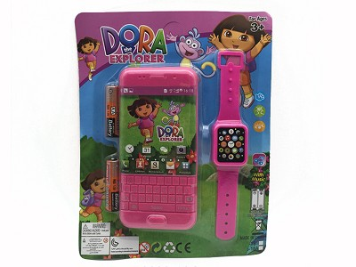 Dora Music Mobile Phone (include  battery)   Watch