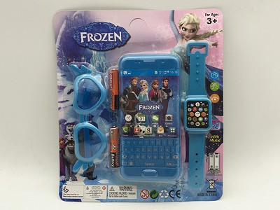 Frozen Music Mobile Phone (include  battery)   Watch,Glasses