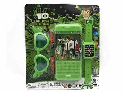 BEN10 Music Mobile Phone (include  battery)   Watch,Glasses