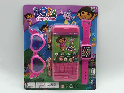 Dora Music Mobile Phone (include  battery)   Watch,Glasses