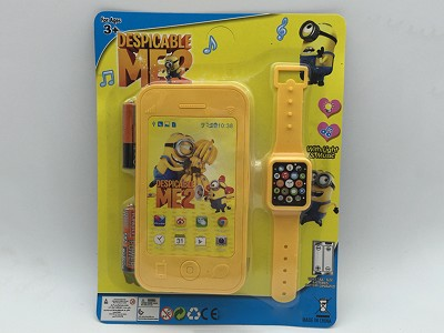 Despicable Me Mobile Phone   Watch(include  battery)