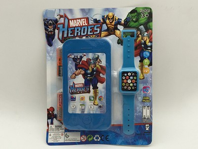 The Avengers Mobile Phone   Watch(include  battery)