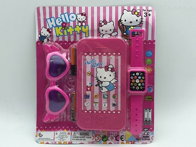 Hello Kitty Mobile Phone   Watch,Glasses(include  battery)