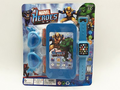 The Avengers Mobile Phone   Watch,Glasses(include  battery)