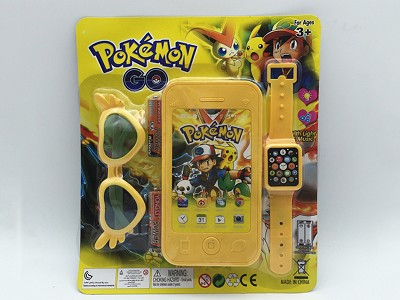 Pikachu Mobile Phone   Watch,Glasses(include  battery)